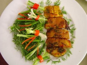 (Cha ca La Vong) Grilled Minced Fish